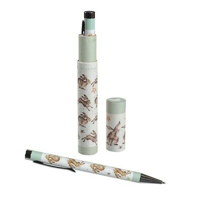 Leaping Hare Pen and Gift Box - The Country Set Hare by Wrendale Designs