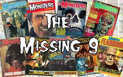"Famous Monsters of Filmland the ""Missing 9"" database on DVD - PLUS MUCH MORE!"