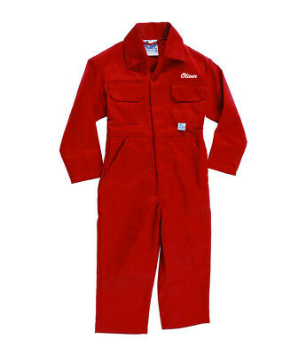 Personalised Kids Boilersuits / Coveralls / Overalls with Embroidered Name