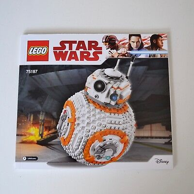 NEW LEGO 75187 BB-8 - Instructions Booklet Only | MELBOURNE Stock