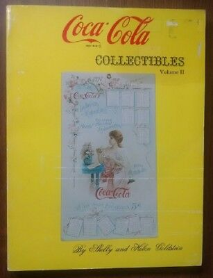 COCA-COLA COLLECTIBLES VOLUME ii - RARE BOOK - GREAT FULL COLOR PHOTOS