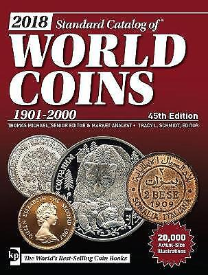 2018 Standard Catalog of World Coins, 1901-2000, Tracy Schmidt