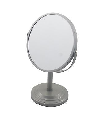 DEM007 DIANE FROMM 2-SIDED STAND MIRROR 1X AND 5X MAGNIFICATION CLEAR