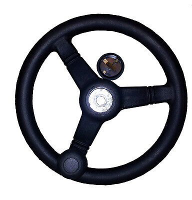 "12"" Steering Wheel for Benford Terex HD Skip Loader Dumper & TV Tandem Roller"