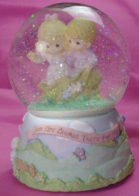 Precious Moments Animated Musical Snowglobe By Enesco Ring Around The Rosie