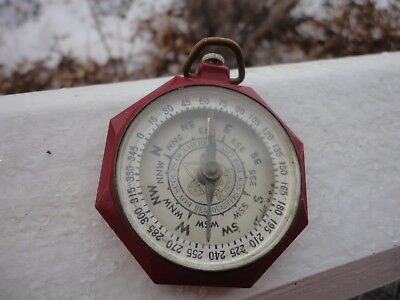 Vintage Boy Scouts of America Headquarters Red Compass by Taylor U.S.A.