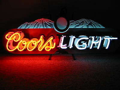 Coors Light    Large    Neon Sign