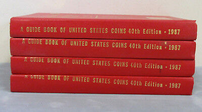 4-1987 40th Edition Guide Book Of United States Coins-Error Printing on 3