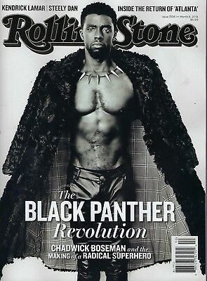 RollingStone Magazine the Black Panther issue