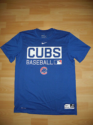Chicago Cubs Nike Authentic Collection MLB Baseball Dri-Fit T-Shirt ⚾