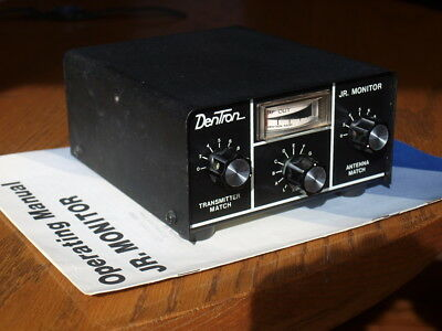 Dentron JR. Monitor Antenna Tuner 300W with Manual