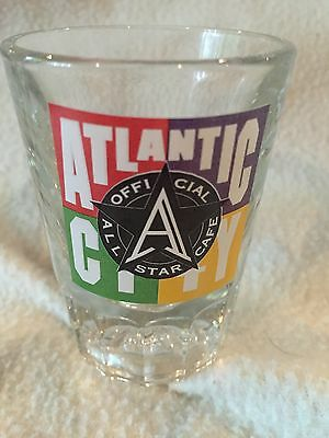 All Star Cafe Shot Glass MINT NEW LEFTOVER FREE SHIPPING
