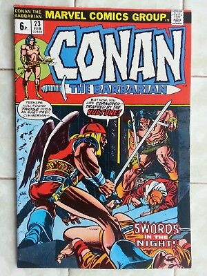 Conan the Barbarian # 23 - 1st Red Sonja appearance !
