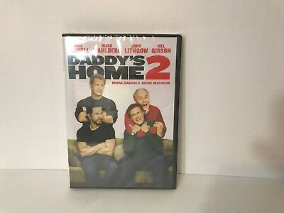 Daddy's Home 2 (DVD, 2018) Brand New, Comedy* Wahlberg, Ferrell, FREE SHIPPING!!