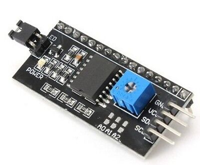Serial interface board module for 1602 LCD Arduino I2C IIC TWI SPI + Cable - UK