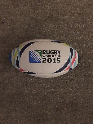Gilbert Rugby World Cup 2015 Mini Rugby Ball New