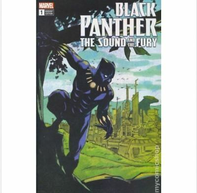 Black Panther Comic Book Marvel The Sound and The Fury #1 eBay Exclusive Offer