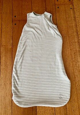 Woolino Sleep Sack 18-36 month size, gray stripe, used but new condition