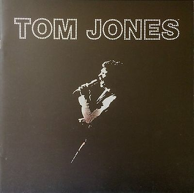 Tom Jones Concert Brochure * Rhinestone Effect Cover