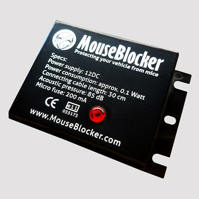 Mouse Blocker Car Automotive Protector Mouse Deterrent Ultrasonic Device 12V DC