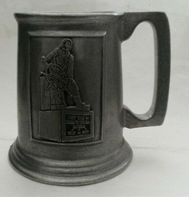 Wilton Armetale Pewter Mug Psalm 107:23 They That Go Down To The Sea In Ships