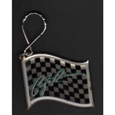 KIM CARNES Cafe Racers KEYRING US Emi 1983 Metal And Plastic Chequered