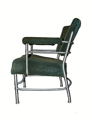 Machine Age Modern Warren Mcarthur 1930's Mohair Club Chair