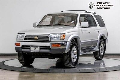 1998 Toyota 4Runner Limited Sport Utility 4-Door 1998 Toyota 4Runner 2 Owner Clean Carfax Original Miles Well Kept