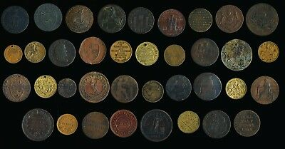 37 Old British Tokens , Condors & More (166?-1874)) > Must See > No Reserve