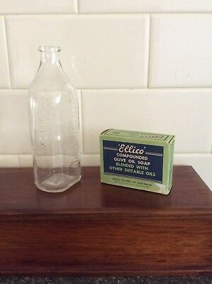 Collectables Baby Bottle And Baby Soap
