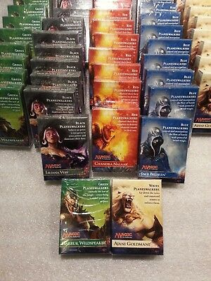 Magic The Gathering Planeswalker 30 Deck Cards Sealed (Set of 5) 2014 MTG
