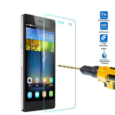 2.5D Tempered Glass Screen Film For Huawei P8 P9 P10 Lite Honor 4X 5X Mate 8 9