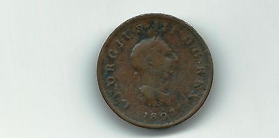 Great Britain UK 1807 1/2 penny coin