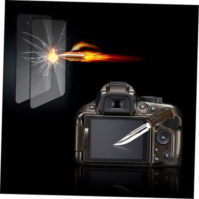 Tempered Glass Film Camera LCD Screen Protector Guard for Nikon D5100/5200 JK