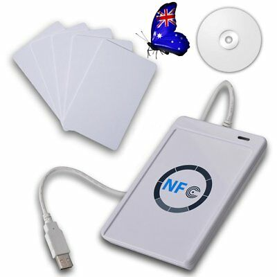 NFC ACR122U RFID Contactless smart Reader & Writer/USB with 5xMifare IC Card MN