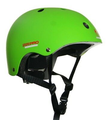 Adrenalin Cross Sports Pro Helmet in Lime