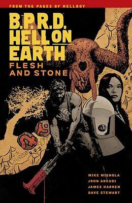 B.P.R.D Hell On Earth Vol. 11 : Flesh And Stone (Paperback), Mike Mignola, 9781.