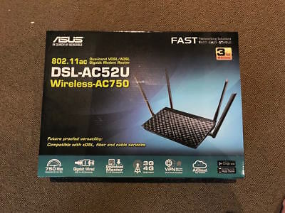 ASUS DSL-AC68U ADSL2+/VDSL Wireless AC1900 Modem Router