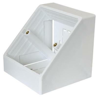 Clever Little Box - CLB-2770 - Conec2 Angled Surface Mount Backbox, Single Gang