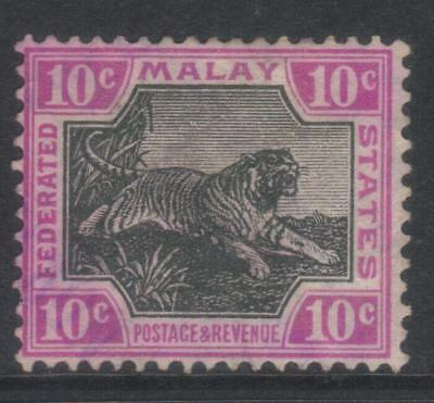 FEDERATED MALAY STATES 1904-1922 DEFINS SG43b MH CAT £48