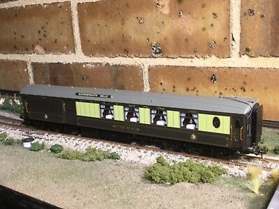 """Pullman 12 wheel 3rd class brake """"Car 94"""" Bournemouth Belle OO scale by Hornby"""