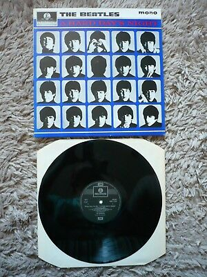 The Beatles A Hard Days Night Vinyl UK 1988 Remastered Mono Parlophone LP