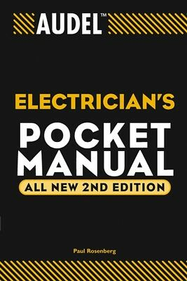 Audel Electrician's Pocket Manual, Rosenberg, Paul