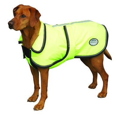 Weatherbeeta Reflective Parka 300D Deluxe Dog Coat with Waterproof Outer