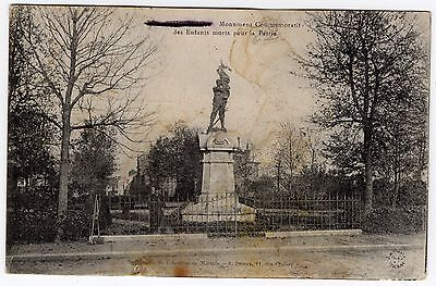 Postcard of a French Statue very nice R36306