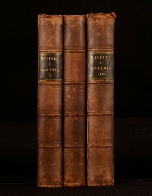1851 3vol Masters and Workmen A Tale First Edition F R Chichester Scarce Novel