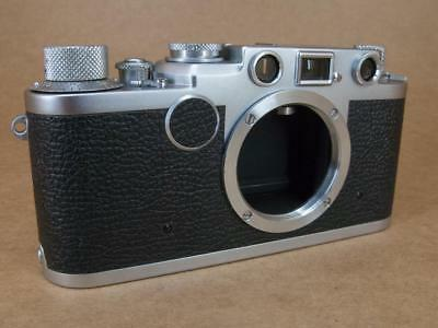Leitz Leica Ic converted to IIf Black Dial 1951