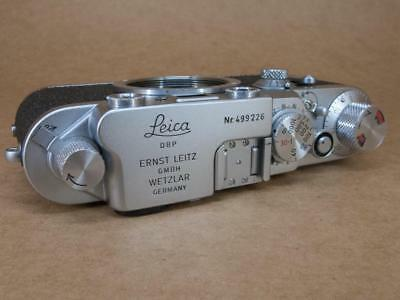Leitz Leica IIIc converted to IIIf Black Dial with Delayed Action 1950