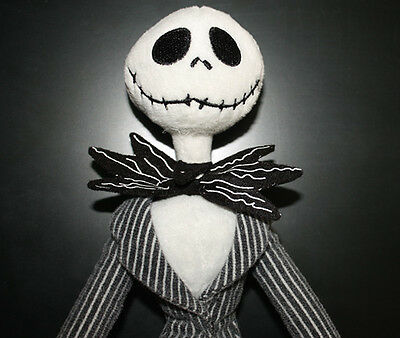 The Nightmare Before Christmas Jack Skellington Poseable Plush Doll Stuffed Toy