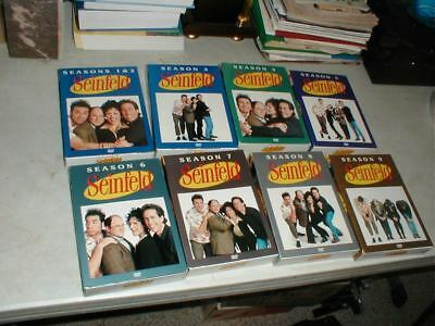 Jerry SEINFELD DVD Individual Box Sets COMPLETE Series Seasons 1-2-3-4-5-6-7-8-9